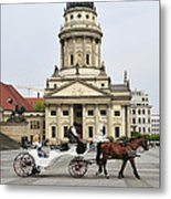 Gendarmenmarkt Berlin Germany Metal Print by Matthias Hauser