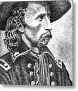General Custer Metal Print by Gordon Punt