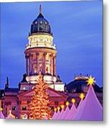 German Christmas Market Metal Print by Murat Taner