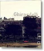 Ghirardelli Square Metal Print by Linda Woods