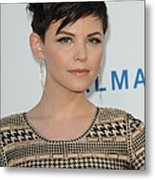 Ginnifer Goodwin At Arrivals Metal Print by Everett