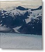 Glacial Panorama Metal Print by Mike Reid
