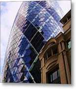 Glass And Stone Metal Print by John Clark