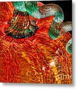 Glass Pumpkin   Metal Print by Alexandra Jordankova