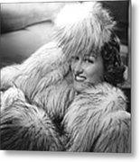 Gloria Swanson, 1941, Photo By Ernest Metal Print by Everett