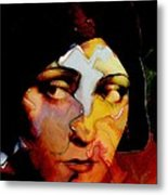 Gloria Swanson Abstract Metal Print by Stefan Kuhn