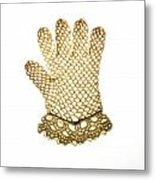 Glove Metal Print by Bernard Jaubert