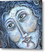 Goddess Of The Northern Star Metal Print by Suzan  Sommers