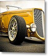 Golden Rod Metal Print by Phil 'motography' Clark
