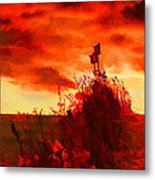 Gone South Metal Print by Suni Roveto