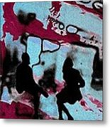 Graffiti - Urban Art Serigrafia Metal Print by Arte Venezia