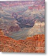 Grand Canyon Crimson Ridge Metal Print by Michael Kirsh