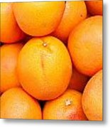 Grapefruit Metal Print by Tom Gowanlock