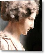 Greek Woman Metal Print by Ilias Athanasopoulos