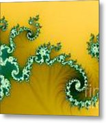 Green In The Yellow Metal Print by Odon Czintos