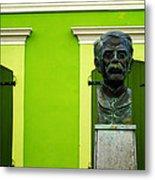 Green Metal Print by Mauricio Jimenez