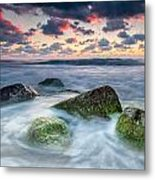 Green Stones Metal Print by Evgeni Dinev