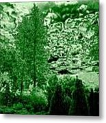 Green Zone Metal Print by Will Borden