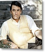 Gregory Peck, Ca. Late 1950s Metal Print by Everett