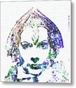 Greta Garbo Metal Print by Naxart Studio