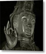 Guan Yin Bodhisattva - Goddess Of Compassion Metal Print by Christine Till