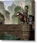 Guards Of The Forgotten Gate Metal Print by Daniel Eskridge