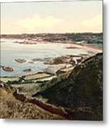 Guernsey - Rocquaine Bay - Channel Islands - England Metal Print by International Images