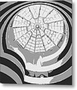 Guggenheim Museum Bw3 Metal Print by Scott Kelley