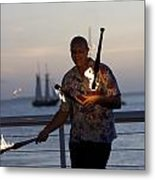 Guy Collins At Key West Metal Print by Christopher Purcell