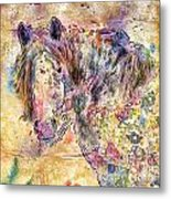 Gypsy Babe Metal Print by Marilyn Sholin