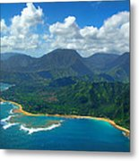 Hanalei Bay 2 Metal Print by Ken Smith