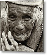 Hands Of Time Metal Print by Skip Nall