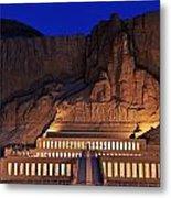Hatshepsuts Mortuary Temple Rises Metal Print by Kenneth Garrett