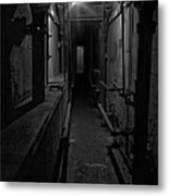 Haunted 1946 Battle Of Alcatraz Death Chamber Metal Print by Daniel Hagerman