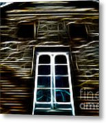 Haunted House Metal Print by Cheryl Young