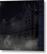 Haunted House Metal Print by Nafets Nuarb