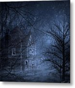 Haunted Place Metal Print by Svetlana Sewell