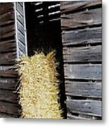 Hay-day Metal Print by Todd Sherlock
