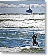 Heading Back Out Metal Print by Gwyn Newcombe