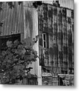 Hearns Feed Mill Metal Print by Tamera James
