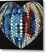 Heartline 4 Metal Print by Will Borden