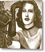 Heddy Lamar Metal Print by Debbie DeWitt