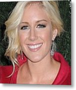 Heidi Montag At Arrivals For Mtv Hosts Metal Print by Everett