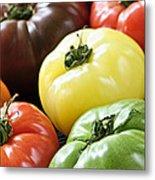 Heirloom Tomatoes Metal Print by Elena Elisseeva