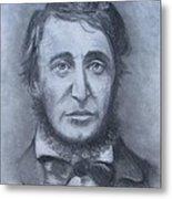 Henry David Thoreau Metal Print by Jack Skinner
