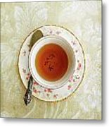 Herbal Tea Metal Print by Stephanie Frey