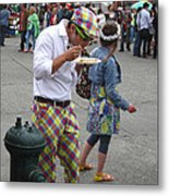 He's A Wild And Crazy Guy Metal Print by Kym Backland