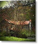 Hidden House In Spring Metal Print by Joyce Kimble Smith