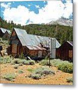 Hidden Mine In The Mountains Metal Print by Kirk Williams