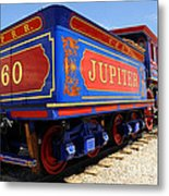 Historic Jupiter Train - Promontory Point National Historic Park Metal Print by Gary Whitton